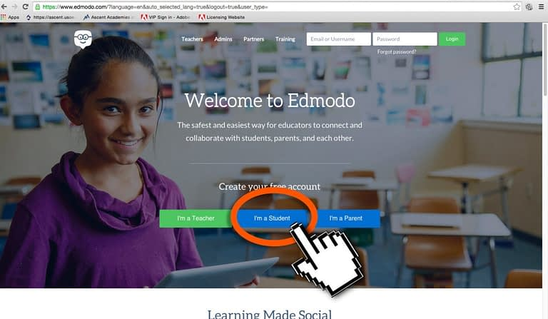 edmodo splash