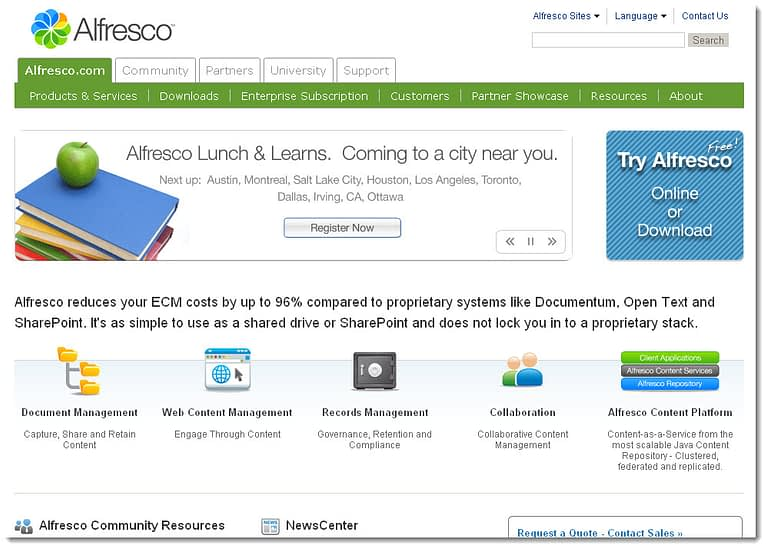 alfresco ecm