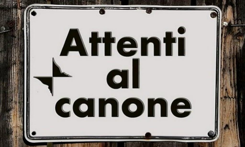 Attenti al Canone