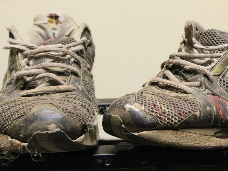 scarpe ginnastica usate