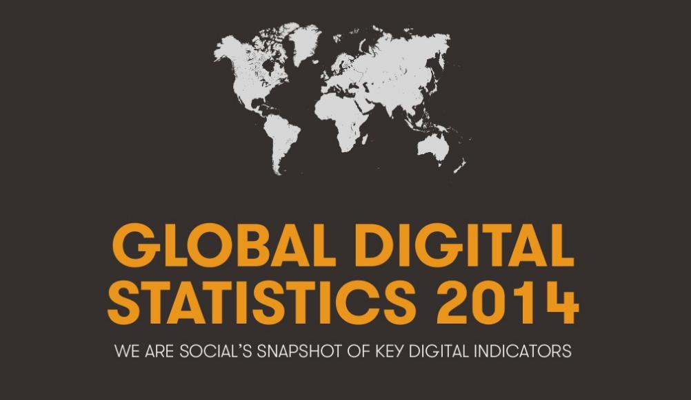 global digital statistics 2014