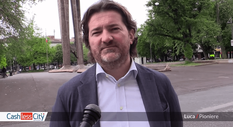 cashless city bergamo intervista luca bonesini
