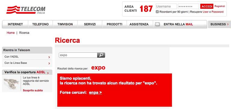 expo2015 telecom